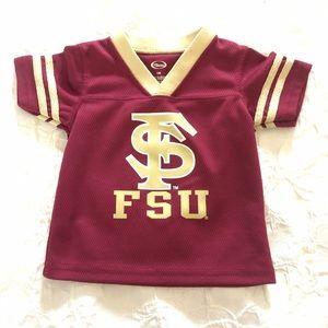 NWOT FSU Florida State Jersey Football Baby Sports